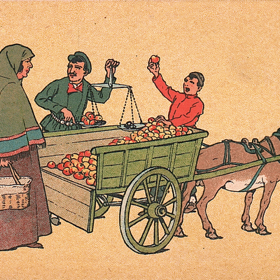 A Kinto Selling Fruit
